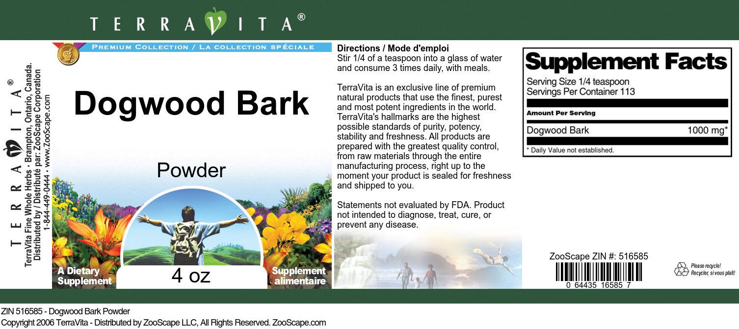 Dogwood Bark Powder