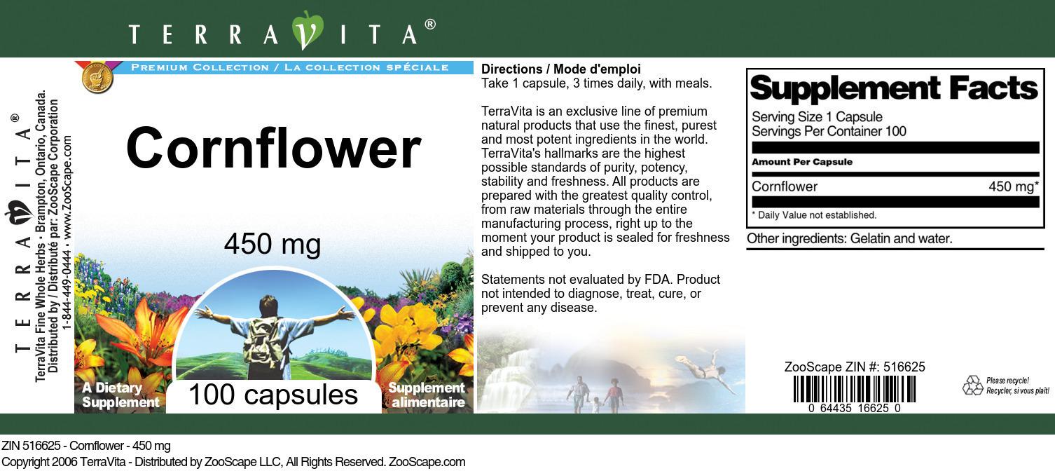 Cornflower - 450 mg