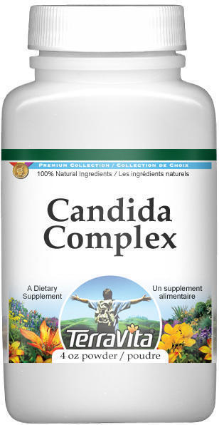 Candida Complex Powder - Echinacea, Sheep Sorrel, Barberry and More
