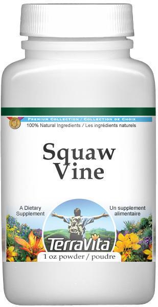 Squaw Vine (Partridge Berry) Powder