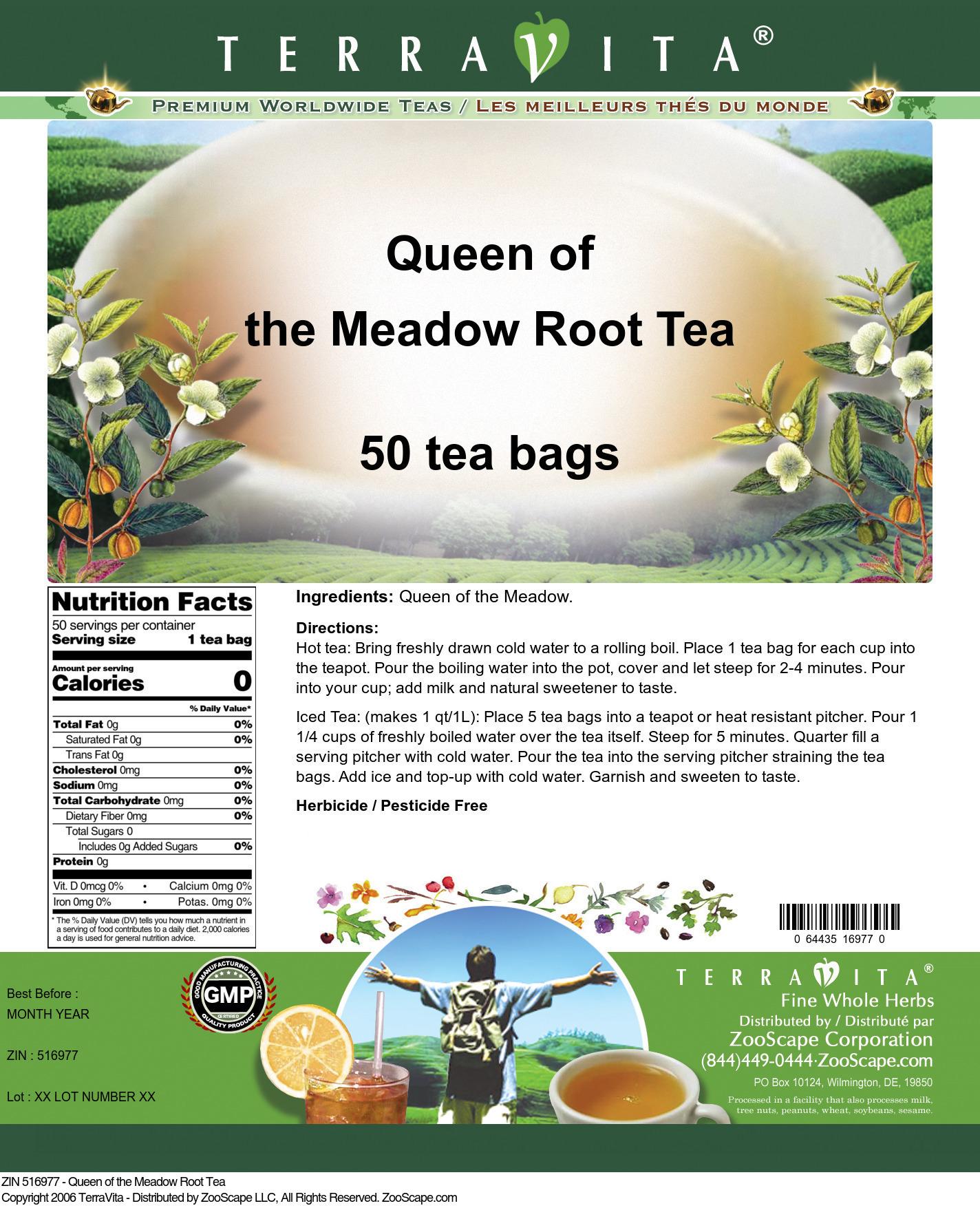 Queen of the Meadow Root Tea