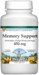Memory Support - Periwinkle, Ginkgo Biloba and Sage - 450 mg