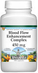 Blood Flow Enhancement Complex - Vinpocetine, Primrose, Garlic and More - 450 mg