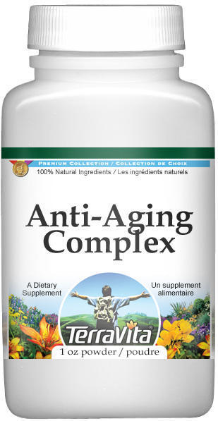Anti-Aging Complex Powder - Ginkgo, Green Tea, Ginseng and More