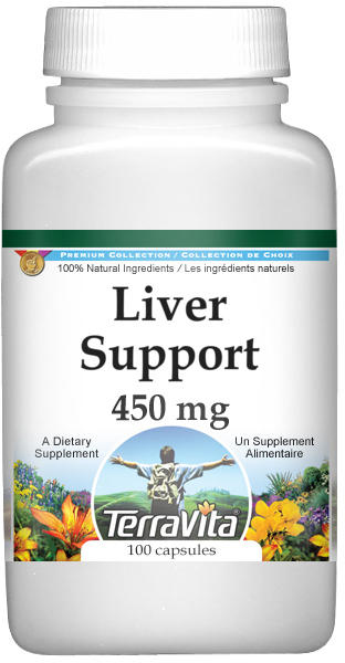 Cirrhosis Support - Milk Thistle, Dandelion and Vervain - 450 mg