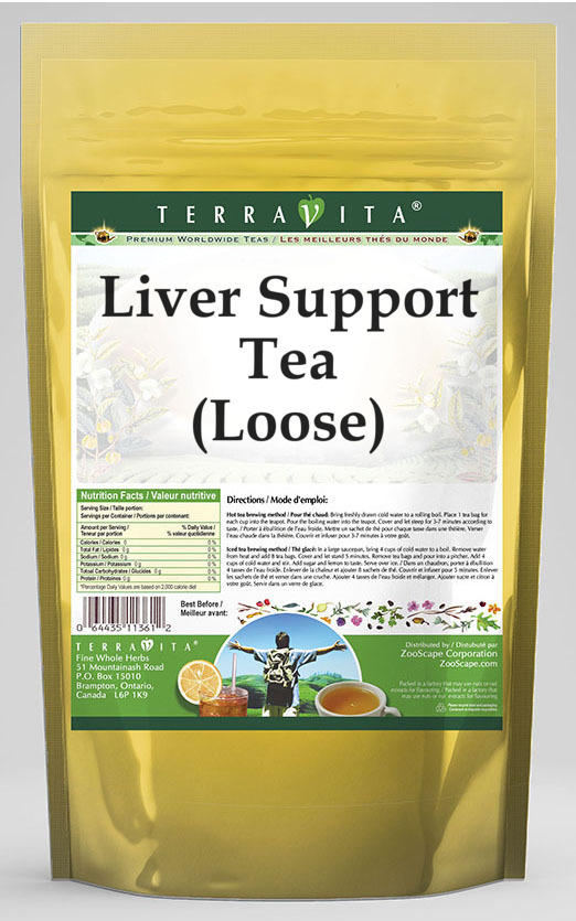Cirrhosis Support Tea (Loose) - Milk Thistle, Dandelion and Vervain