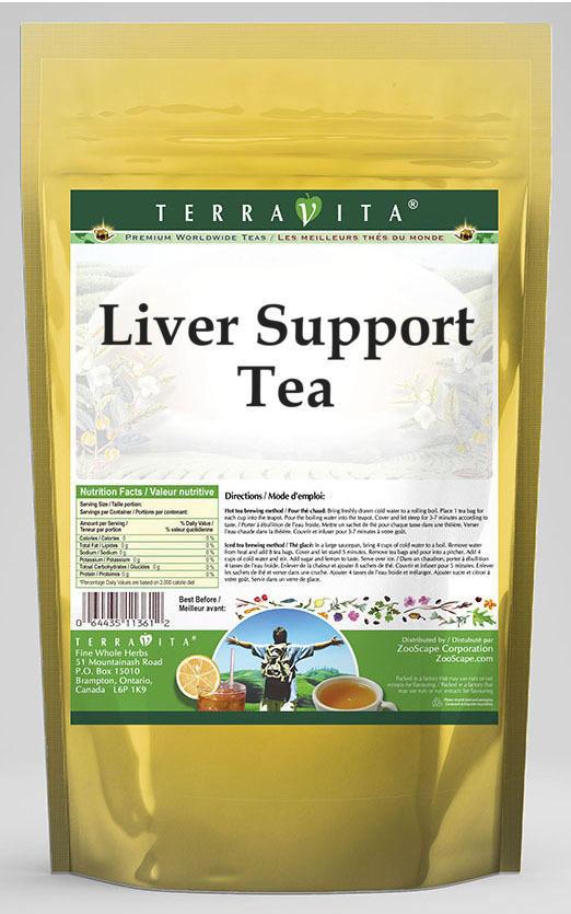 Cirrhosis Support Tea - Milk Thistle, Dandelion and Vervain