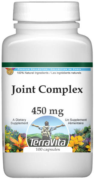 Joint Complex - Boswellin, Green Tea, White Willow and More - 450 mg