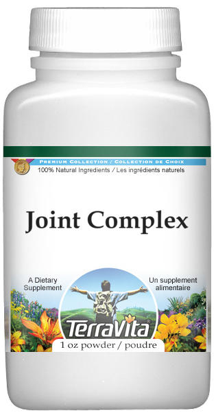 Joint Complex Powder - Boswellin, Green Tea, White Willow and More - 450 mg