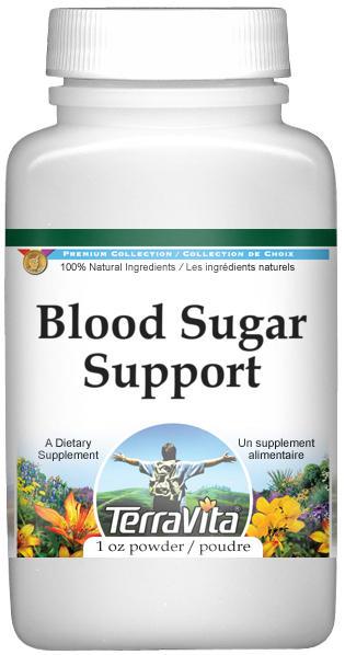 Blood Sugar Support Powder - Gymnema, Fenugreek, Bilberry and More