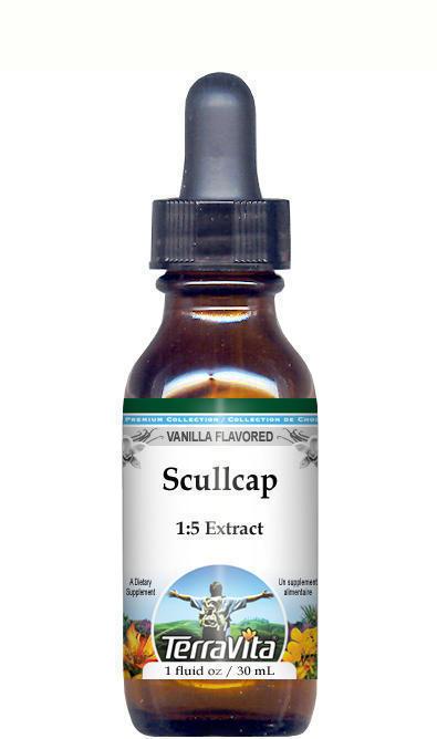 Scullcap Glycerite Liquid Extract (1:5)