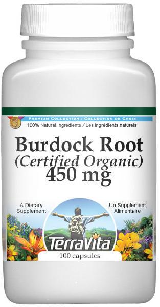 Burdock Root (Certified Organic) - 450 mg