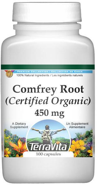 Comfrey Root (Certified Organic) - 450 mg