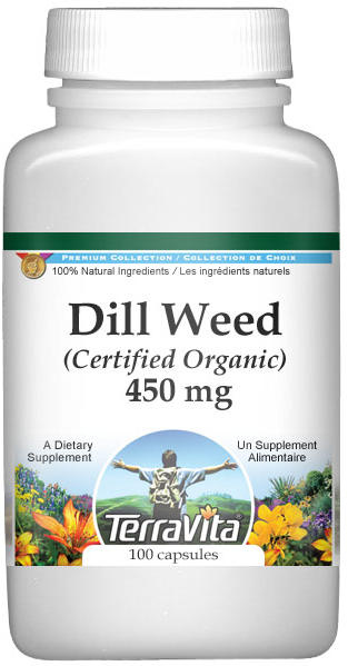 Dill Weed (Certified Organic) - 450 mg