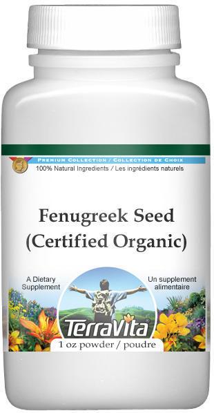 Fenugreek Seed (Certified Organic) Powder