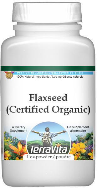 Flaxseed (Certified Organic) Powder