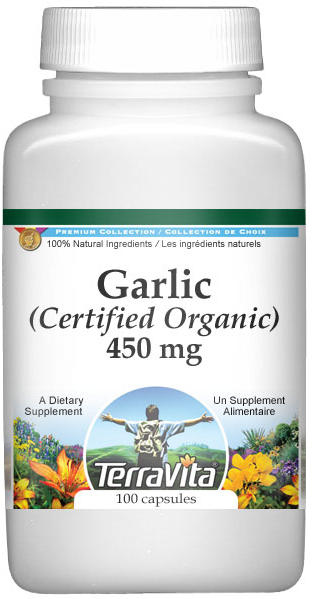 Garlic (Certified Organic) - 450 mg