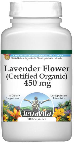 Lavender Flower (Certified Organic) - 450 mg