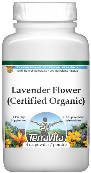 Lavender Flower (Certified Organic) Powder