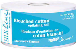 Non-Woven Bleached Cotton Epilating Cloth Roll