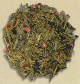 Bohemian Raspberry Green Tea (Loose) - Additional View