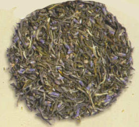 Lavender Butterfly Green Tea (Loose)