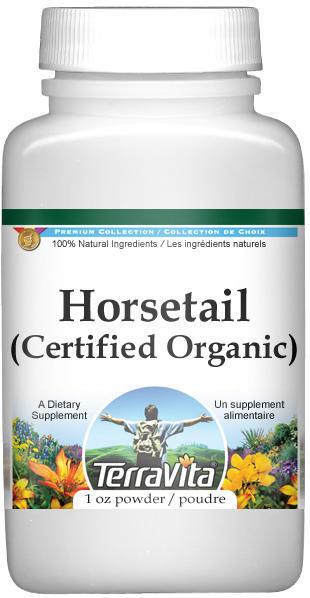 Horsetail (Shavegrass Silica) (Certified Organic) Powder