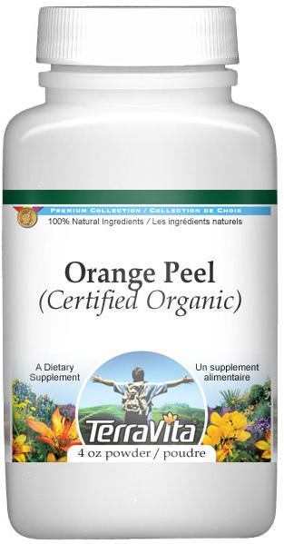 Orange Peel (Certified Organic) Powder