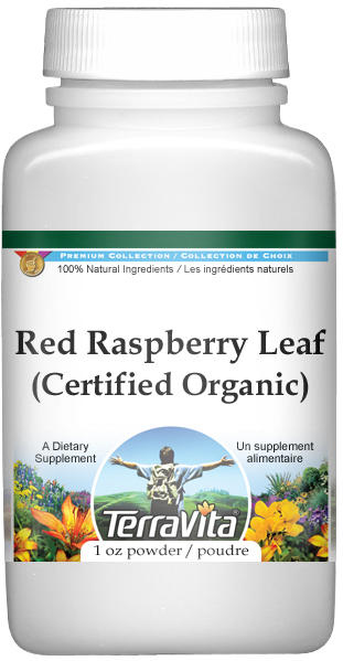 Red Raspberry Leaf (Certified Organic) Powder