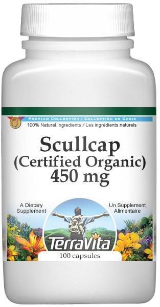 Scullcap (Certified Organic) - 450 mg