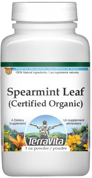 Spearmint Leaf (Certified Organic) Powder