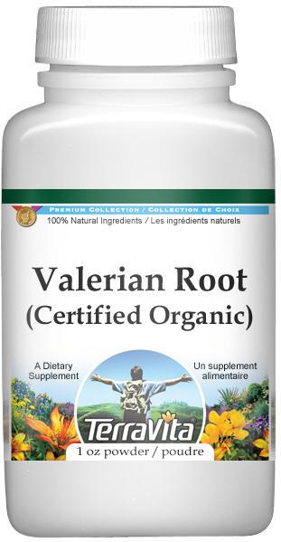 Valerian Root (Certified Organic) Powder