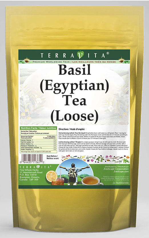 Basil (Egyptian) Tea (Loose)