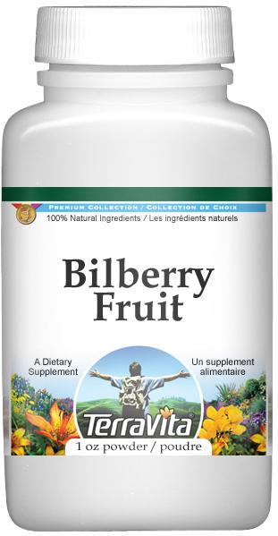 Bilberry Fruit Powder