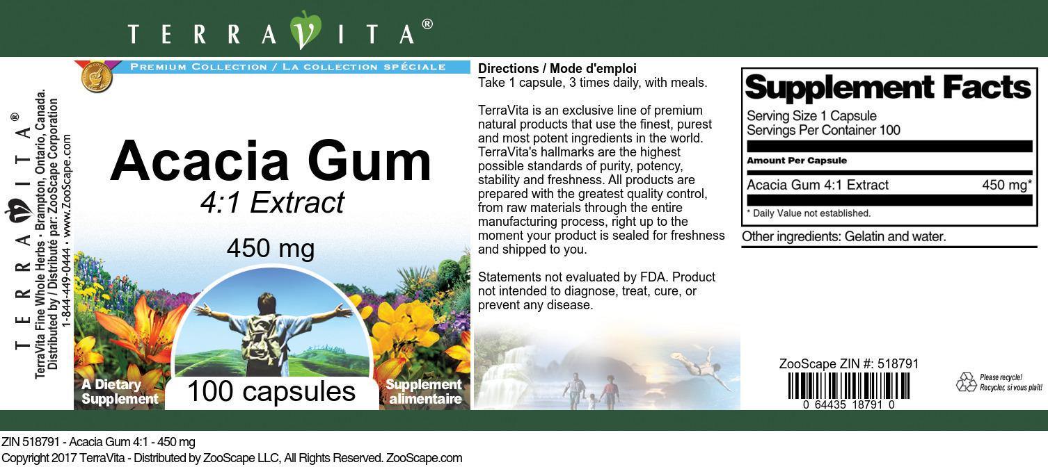 Acacia Gum 4:1 Extract