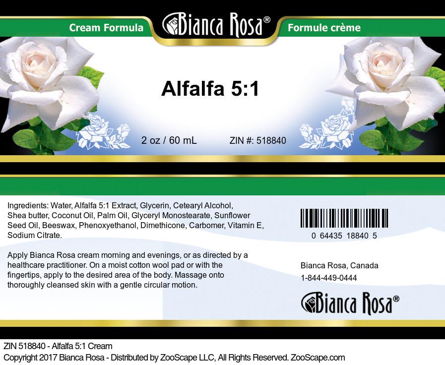 Alfalfa 5:1 Cream