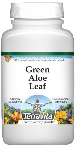 Green Aloe Leaf Powder