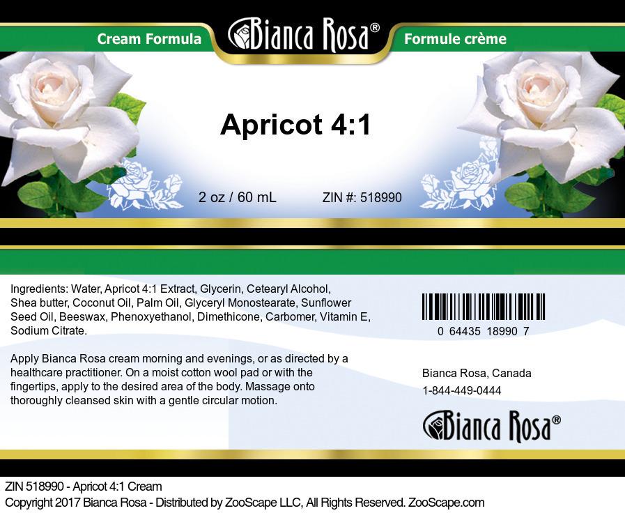 Apricot 4:1 Cream