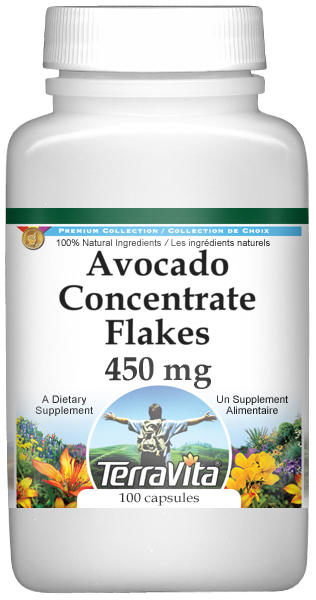 Avocado Concentrate Flakes - 450 mg