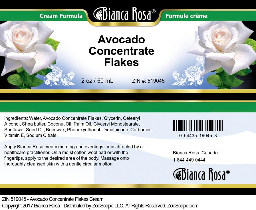 Avocado Concentrate Flakes Cream