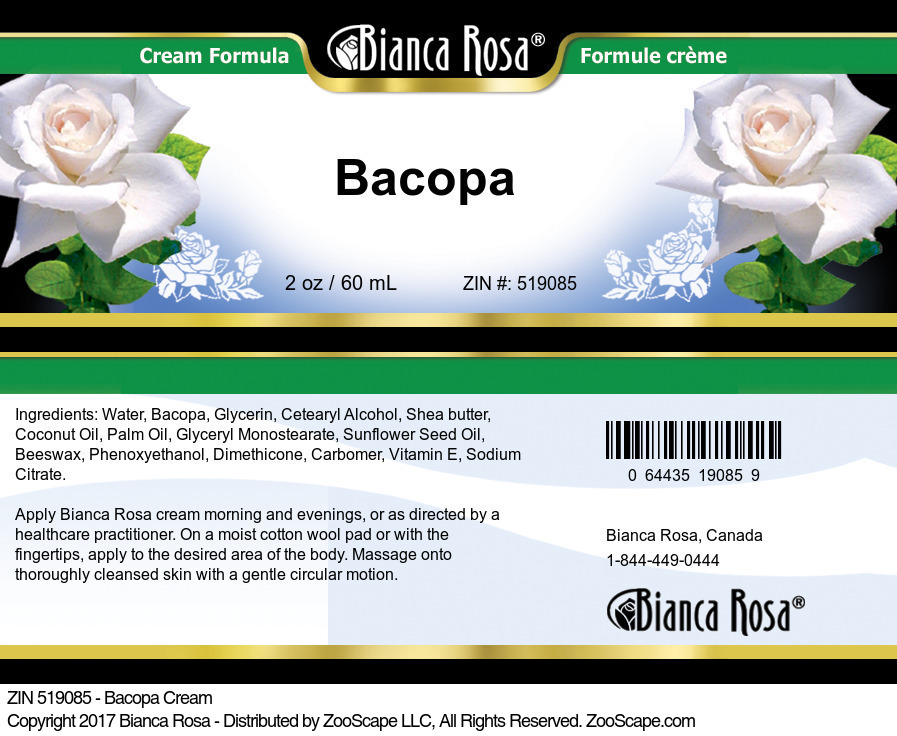 Bacopa Cream