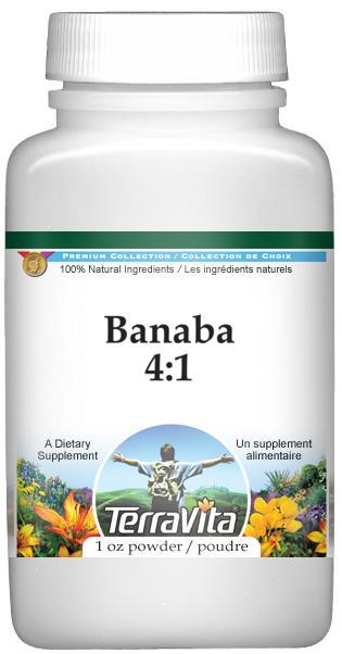 Banaba 4:1 Powder