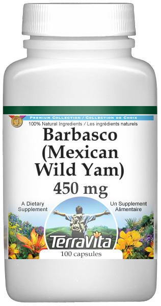 Barbasco (Mexican Wild Yam) - 450 mg