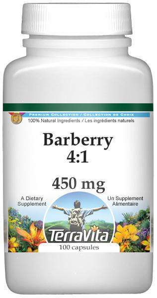 Barberry 4:1 - 450 mg