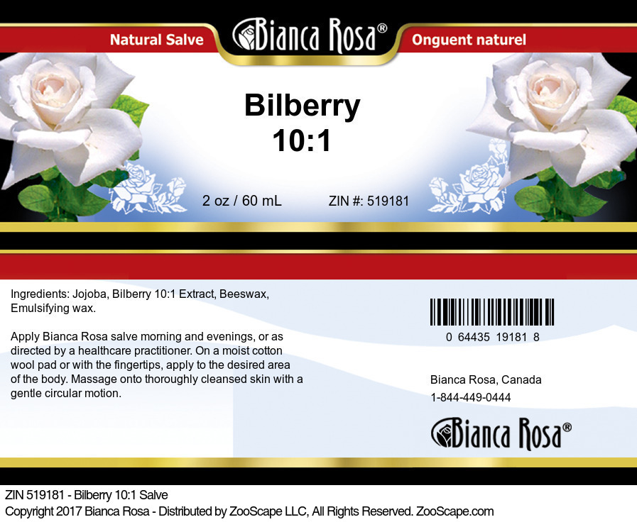 Bilberry 10:1 Extract