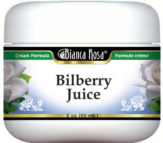 Bilberry Juice Cream