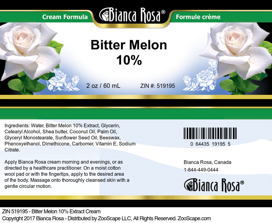 Bitter Melon 10% Cream