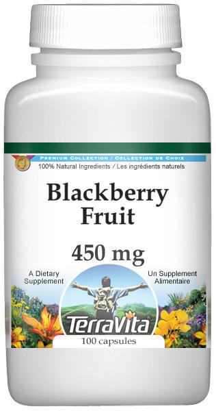 Blackberry Fruit - 450 mg