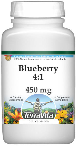 Blueberry 4:1 - 450 mg