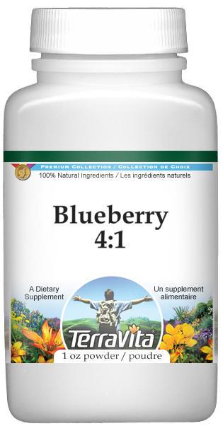 Blueberry 4:1 Powder